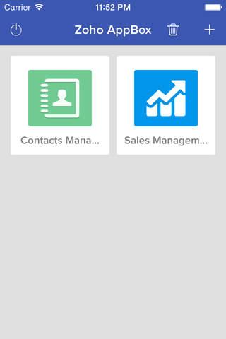 Zoho AppBox screenshot 1