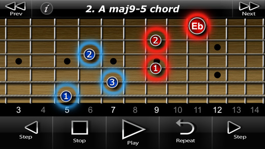 Two Handed Touch Guitar Chords HD