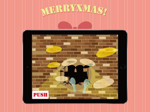 DrumBrother for Xmas iPad Screenshot 2