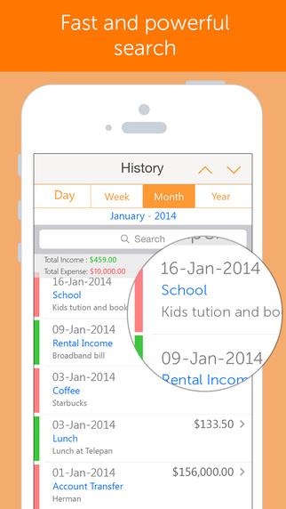 Easy Spending Expense Tracker - Save expenses