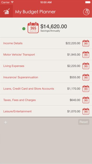 My Budget Planner iPhone Screenshot 1
