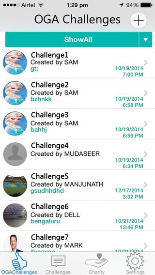 OGA Challenge