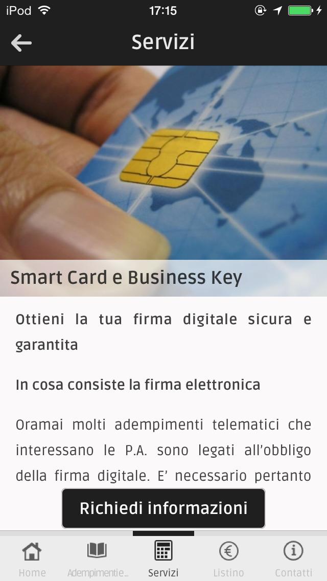 App shopper punto service business for Albanesi arredamenti