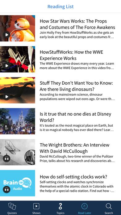 HowStuffWorks iPhone Screenshot 5