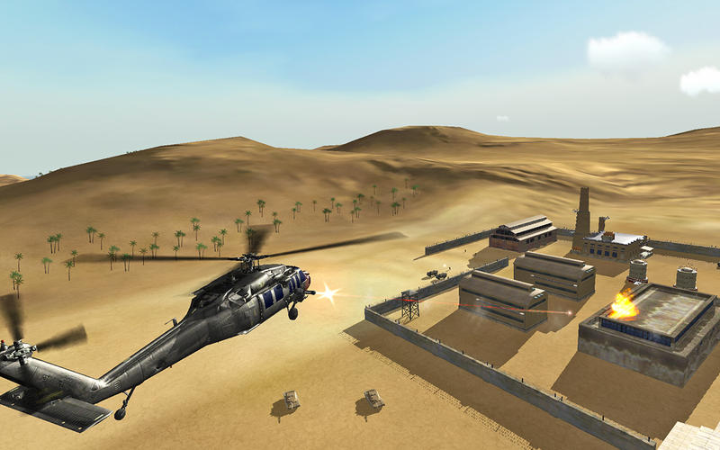 Helicopter Sim - Hellfire Squadron Screenshot - 4