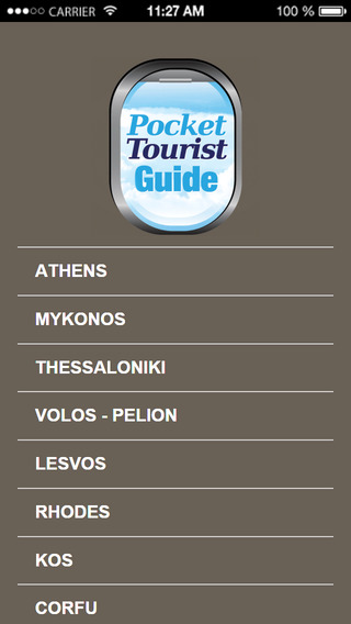Pocket Tourist Guide Greece - Cyprus