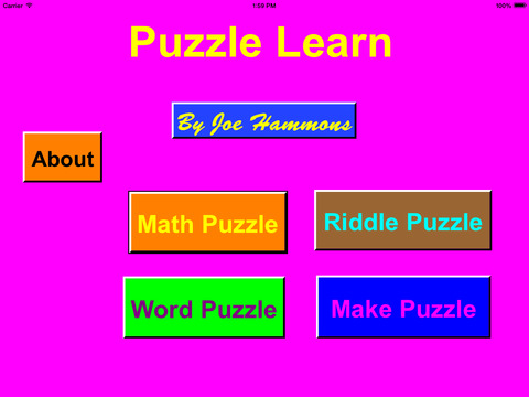 PuzzleLearn