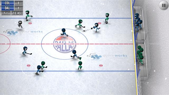 Take the Ice with 'Stickman Ice Hockey' by Djinnworks (via @GameMob_)
