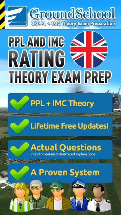 GroundSchool UK IMC RATING Theory Exam Preparation iPhone Screenshot 1