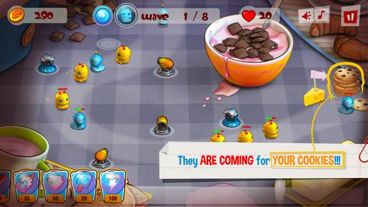 Cookie Gluttons TD Screenshot