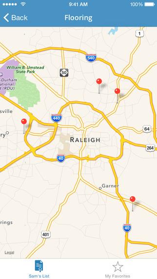 Sam's List – Raleigh