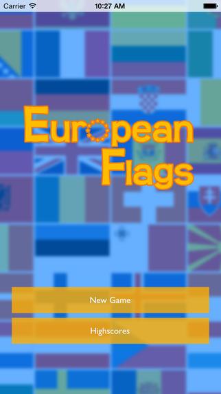 European Flags Challenge