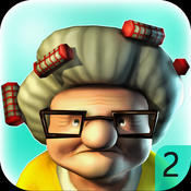 动作射击 黑帮老太 2 – Gangster Granny 2: Madness [iOS]