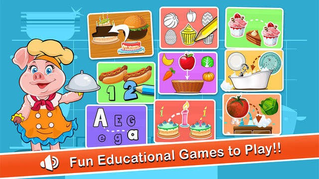 Preschool Zoo Educational Learning Puzzle Games for Kids