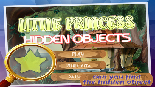 Little Princess Hidden Objects - A Free Hidden Object Mystery Game Find the Objects Solve Puzzle