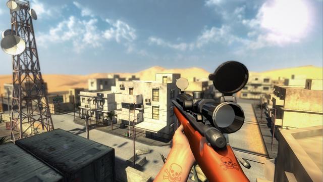 Cold War Sniper Battlefield