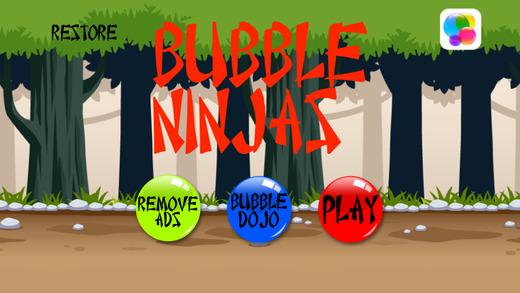 Bubble Ninjas