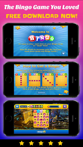 Bingo Casino City PRO - Play Online Casino and Gambling Card Game for FREE