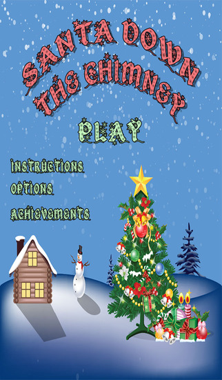 Santa Down The Chimney - Christmas Maze game