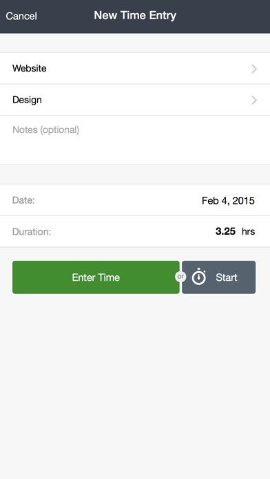 Tick (Time & Budget Tracking) iPhone Screenshot 3