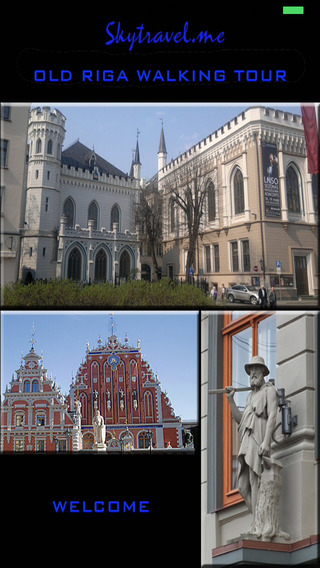 Riga Old Town Offline Guide Tour