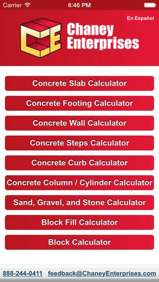 Concrete and Agg Calculator