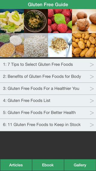 Gluten Free Guide - The Diet Guide To Treat Celiac Disease