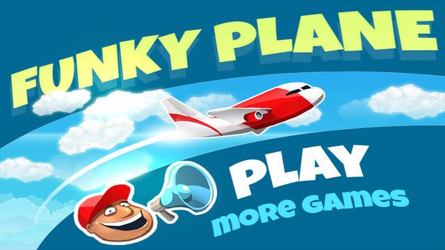 Funky Plane - Finger Pilot Simulator