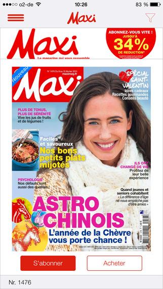 Maxi Magazine France: l'hebdomadaire qui accompagne les femmes dans leur quotidien