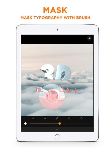 Threedi - Real 3D Text on your photo Screenshots