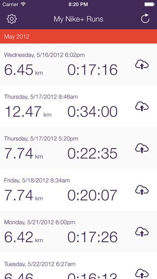 Nike+ Data Downloader