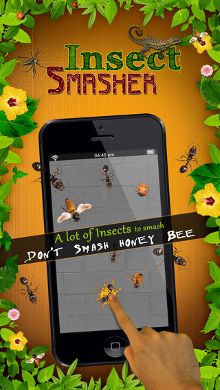 Ant Smasher Insects Reloaded for holiday season - Free Ants and Bugs Crush Game