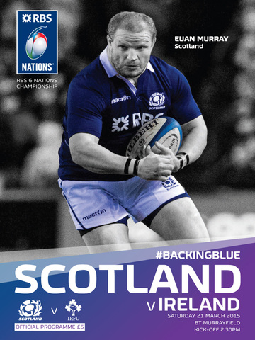 Scotland Rugby Official Matchday Programme