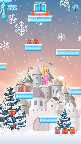 Lil' Jumping Princess - Adventure in the Snowy Castle FREE