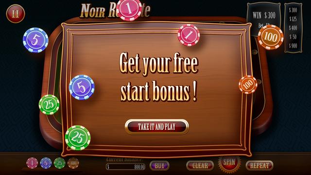 Noir Roulette - 2015 Vegas Classic Edition