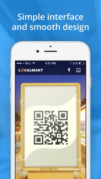 LocalMart QR Reader