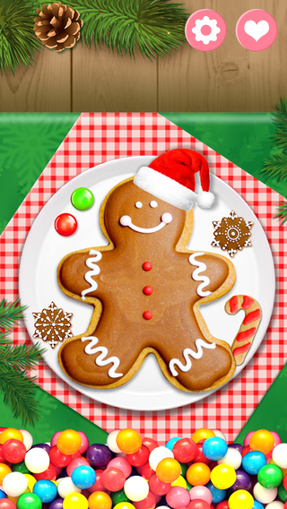 Gingerbread Christmas Cookies - Holiday Cooking