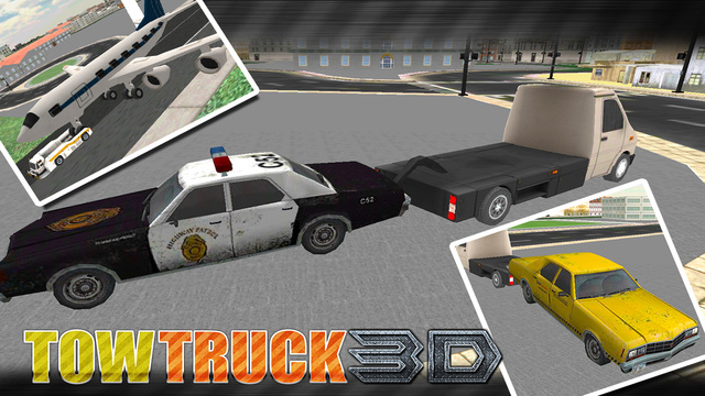 Tow Truck Driver Car Fix 3D Simulator