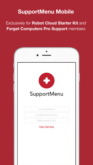 SupportMenu Mobile