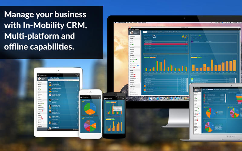 In-Mobility CRM Screenshot - 1