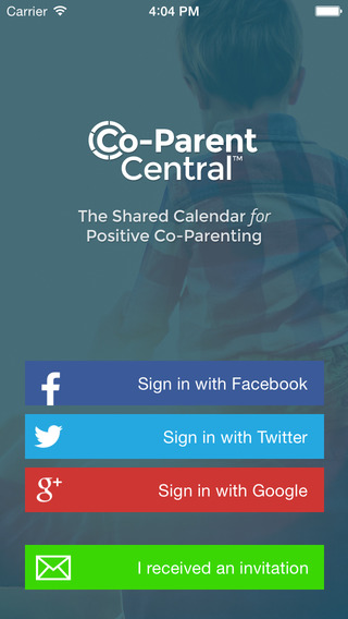 Co-Parent Central - A Calendar for Divorced and Separated Parents