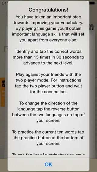 BidBox Vocabulary Trainer: English - Portuguese iPhone Screenshot 4