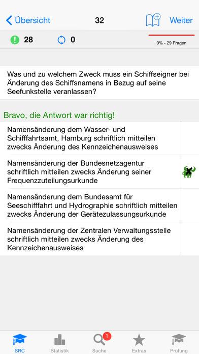 Funkschein SRC iPhone Screenshot 2