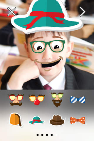 Funny Face FREE Photo Stickers App screenshot 3