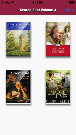 George Eliot Collection Volume 4