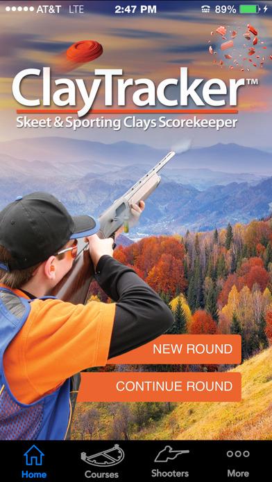 ClayTracker-Skeet & Sporting Clays Scorekeeper iPhone Screenshot 1