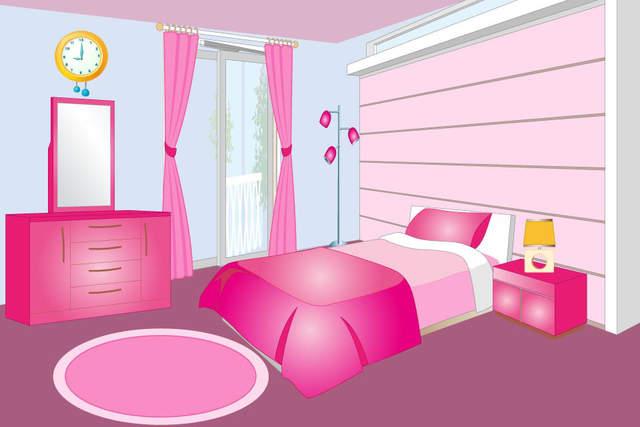 随着娃娃屋室内装饰,可以设计每一个房间的房子 - 从卧室到客厅
