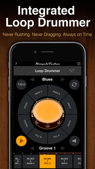 AmpliTube LE iPhone Screenshot 4