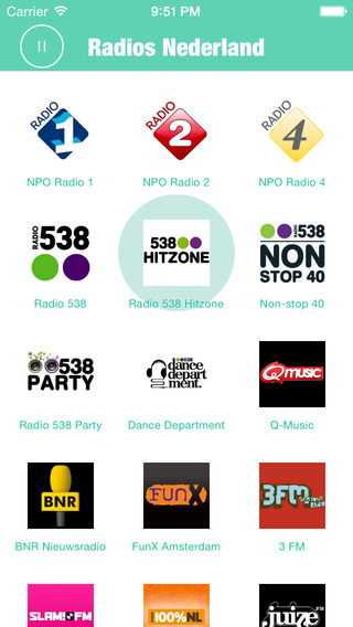 Radios Nederland Pro: Nederland Radios include many Nederlands Radio