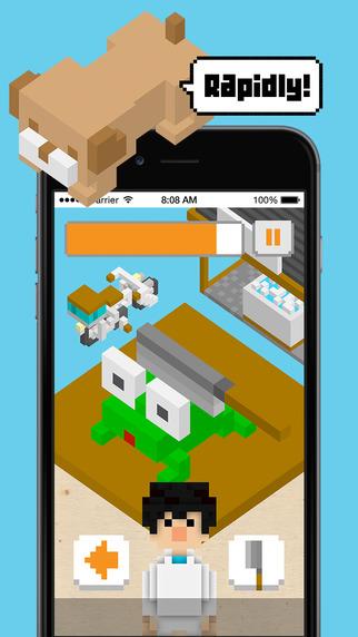 無料游戏AppのTOFU FIGHT!  | Cut up the tofu rapidly!  An artisan type casual game.|記事Game